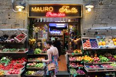 This was the little market right below my apartment in Florence, Italy.  They had the best dried fruit I have ever had.