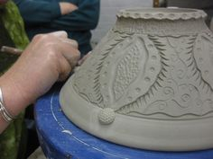 bowl carving 10 - surface decoration