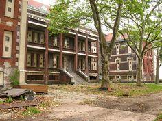 Abandoned Ellis Island - administration or medical buildings