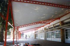 Patio de recreo - Liceo Francés Uruguay 1997