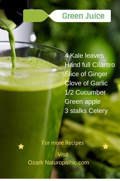 Green Kale Juice Recipe