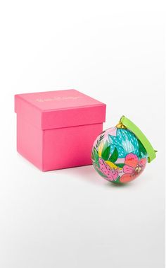 Lilly Pulitzer Christmas ornaments!