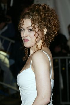 Bernadette Peters Beauty Evolution. OH GODS I WANT TO BE HER SO BAD I LOVE HER HAIR AND SHE HAS SUCH AN AMAZING VOICE.