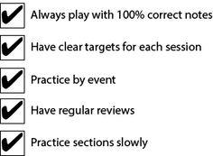 Efficient Practice