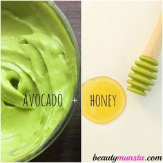 This anti-bacterial avocado face mask for acne will soothe inflammation, destroy & keep away acne causing bacteria and soften hard painful acne, helping the pimple pop naturally. #ExfoliatingBodyScrub Face Scrub Homemade, Homemade Face Masks, Diy Face Mask, Facemask Homemade, Homemade Moisturizer, Homemade Facials, Diy Masque