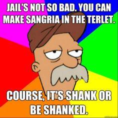 Scruffy... the janitor.