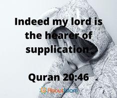 Allah hears all supplication