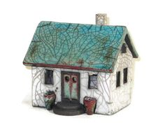 CERAMIC HOUSE   Unique Country House in French by EuropeanRetro, $70.00
