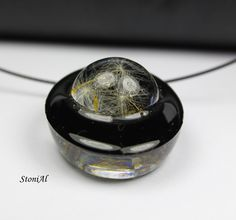Real Dandelion put into Resin