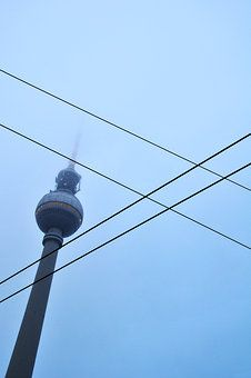 Berlin, Alexanderplatz by Tobias Machhaus