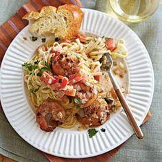 Top-Rated Budget Recipes: Linguine with Spicy Shrimp | CookingLight.com