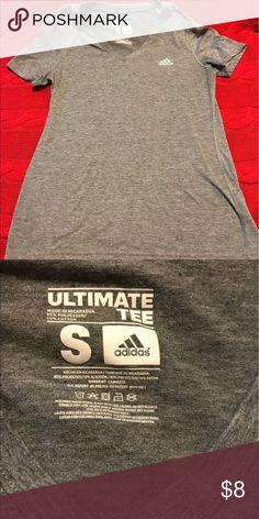 Adidas gym top Gray ADIDAS gym top adidas Tops Tees - Short Sleeve