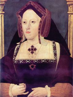 1525ca. Katherine of Aragon by ? (National Portrait Gallery London)