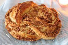 Coroa de Páscoa de Maçã e Canela Portugal, Algarve, Sweet Bread, Apple Pie, Breads, Muffins, Gluten, Homemade, Desserts