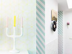 zilverblauw-wallpaper