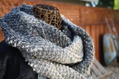 Soft Hand Knit Infinity Scarf in Many Shades by LilRedKnittingHood, $35.00