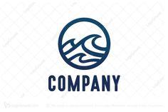 Logo for sale: Wave Logo
