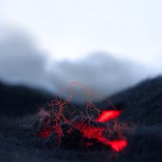 Red Hot Wooly Magma