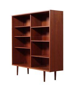 Exceptional Mid Century Modern Danish Teak Bookcase | Modernism