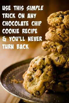 The amazing Inception chocolate chip cookie trick.