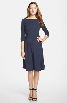 Max Mara Weekend 'Jean' Ruched Jersey Dress on shopstyle.com