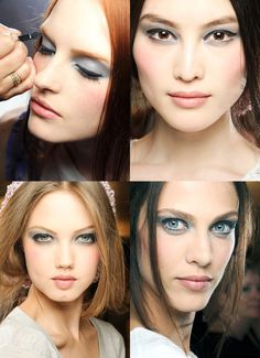 Chanel Fall 2012 Couture beauty