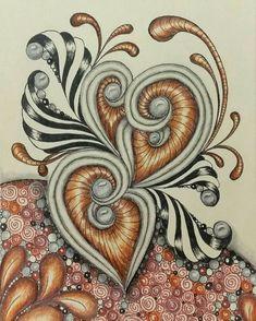 Alexandra Funda, tripoli pattern only with 2 center circles - I like it