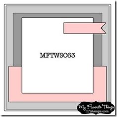 MFT sketch, ideal for mens cards