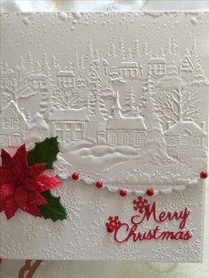 Made using crafters companion 3D embossing folder and spellbinder edgabillity border