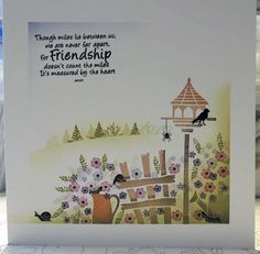 Pottery Petites set with Veranda View and Friends quote