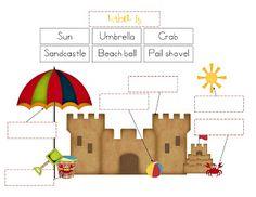 Preschool Printables: Beach Days