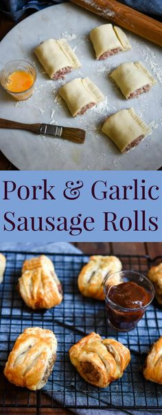 Pork & Garlic Sausage Rolls | Patisserie Makes Perfect