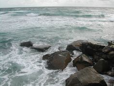 Cool #ocean picture on a windy day in #Florida.  #FreeMediaGoo