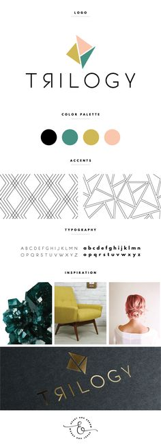 Geometric-inspired design by Heart & Arrow