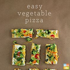 This is a super easy vegetable pizza recipe! This includes cream cheese, mayonnaise, and dry Ranch dressing plus LOTS of veggies! Just check out the pictures.