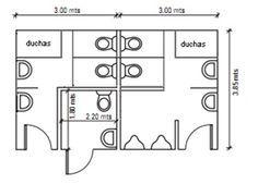 Baños Pequeños Medidas Minimas Buscar Con Google Projetos De Casas Arquitetura Projetos