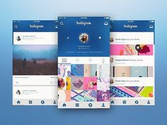 Logo inspiration:   Instagram UI Concept by Bruno La Versa   Hire top quality creatives to grow your business at Twine. Twine can help you get a web design, web inspiration, website design, logo, graphic design, branding, ux design, ui design and more.