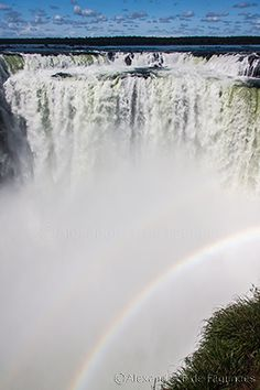 Devil´s Throat - Foz do Iguaçu - Border of Argentina and Brazil