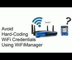 Hello everyone!In this instructable I'm going to talk about how you can avoid hard-coding your WiFi credentials into your Arduino sketches using a really awesome library called WiFiManager. It will only take a couple of minutes to go through these steps.Check out the video or continue reading here to find out how to add it and how it works.