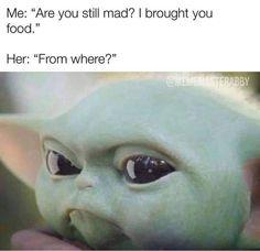 Yoda Meme, Yoda Funny, Funny Minion, Funny Cute, Really Funny, Hilarious, Star Wars Baby, I Love To Laugh, Twisted Humor