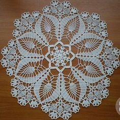 Crochet Patterns Filet, Crochet Lace Edging, Crochet Mandala, Filet Crochet, Irish Crochet, Fall Flower Arrangements, Crochet Bowl, Bordado Floral, Crochet Dollies