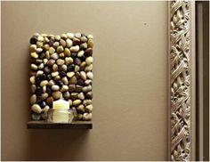 28 inšpirácií ako oživiť interiér bytu pomocou kameňov