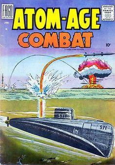 Atom-Age Combat #2 - 1959 - Comic Book Cover Poster