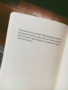 Wisdom Quotes : QUOTATION - Image : As the quote says - Description I hope you know you are loved. Poem Quotes, Wisdom Quotes, True Quotes, Words Quotes, Sayings, One Day Quotes, Soft Words, The Words, Pillow Thoughts