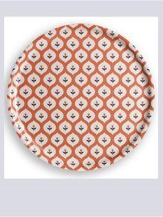 Bloom Retro Orange Tray