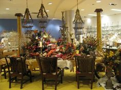 quincy cottage: Macy's Bohemian Gardens Tables