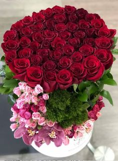 Beautiful Rose Flowers, Exotic Flowers, Amazing Flowers, Pink Flowers, Birthday Wishes Flowers, Happy Birthday Flower, Rose Flower Wallpaper, Large Flower Arrangements, Red Rose Bouquet