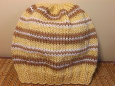 How To Knit An Adult Hat
