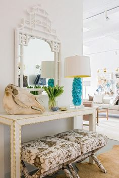 CONSOLE IDEAS | Entryway styling ideas with white console table | www.bocadolobo.com #consoletableideas #modernconsole