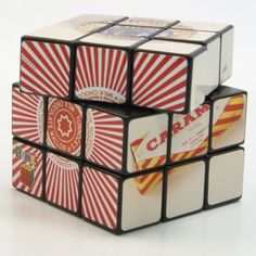 A distinctively Glaswegian treat - the Tunnock's Teacake or in this instance their merchandise spin off, the Tunnock's rubik's cube!  Tunnock's was founded in 1890 by Thomas Tunnock.  It remains a family run business and its specialties include the famous and much-loved Caramel Wafers, Snowballs, Caramel Logs and, of course, Teacakes! Tunnock's treats are available all over Glasgow and beyond.